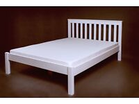 New solid pine double beds. Free delivery in Bournemouth