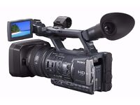 Sony HDR-AX2000E Pro Video Camera, Excellent Condition
