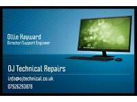 Fully mobile PC, Laptop support/repairs, general technical support