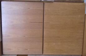 Wall cupboard teak