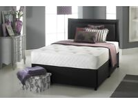 【💖🔵💖 SPECIAL DEAL OFFER 💖🔵💖】SINGLE,DOUBLE & KING SIZE DOUBLE DIVAN BED BASE WITH MATTRESSES