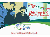 International Cafe : Make Friends & Practise & English