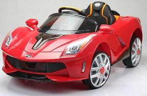 Brand New 12V Electric Child Ride On Car with Doors, Remote Controller, Forward, Reverse, MP3 Input, Music, Led Lights