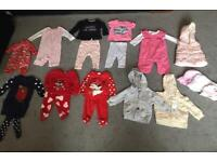 Very large baby girls clothes bundle (3-6 months)