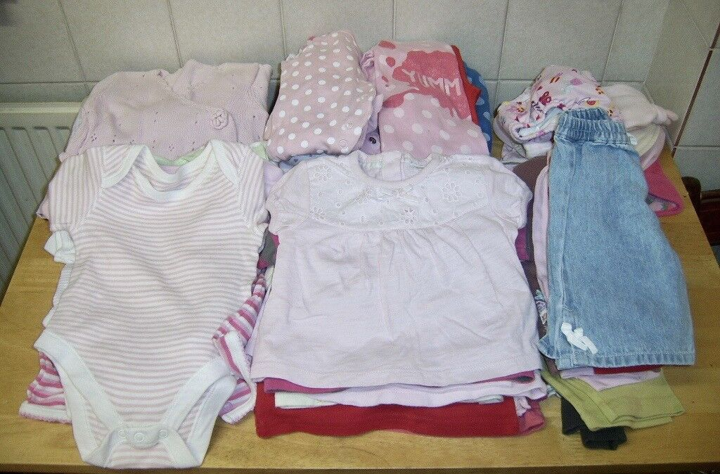Girls' Clothing (0-24 Months) Baby Girls 0-3 Months Bundle