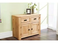 Brand New Solid Pine Natural Colour Large 3 door Sideboard 2 door Sideboard 1 door Bookcase Wood