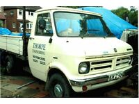 Bedford CF MkI pick up truck, W reg, one owner, orignal condition - Call John 07980 086080.