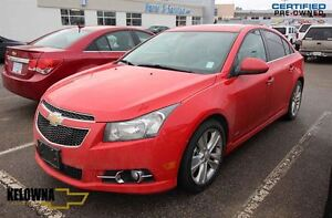 2014 Chevrolet Cruze LTZ RS, Leather, Sunroof, Back Up Camera, R
