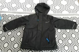 Boys black coat 3-4 years