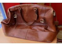 Made In Italy Large Highgrove Leather bag