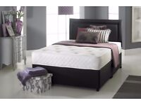 💓⚡GET THE BEST PRICE IN TOWN💓⚡BRAND NEW DOUBLE & KING SIZE DIVAN BASE w POCKET SPRUNG MATTRESS💓⚡