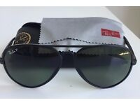 Rayban LITEFORCE Polarised Aviator shaped sunglasses - Matte Black