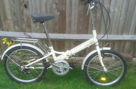 Vintage ladies folding shopper bike Lespo Samchuly. Very nicee! Very rare!