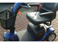 Pride colt 3 wheel mobility scooter with 2 batteries un-used 3 years old