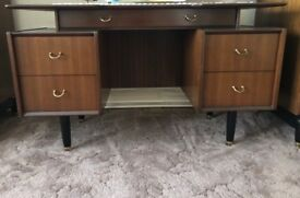 Vintage Dressing Table and Mirror
