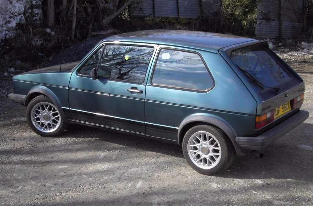 Mk 1 GTI VW Golf 1981 for sale Lhasa Green