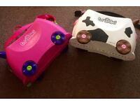 Trunki, Kids Suitcases x2