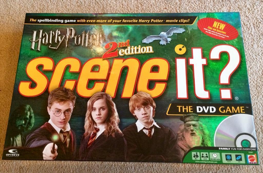 Harry Potter 2nd Edition Scene It
