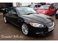STUNNING 60 plate Jaguar XF 3.0 Premium Luxury saloon, FSH, Long MOT, two keys BEAUTIFUL BIG CAR !!
