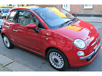 Fiat 500, 2008(58),Lounge 1.3 Diesel, Full Service history, (£20 tax/year)