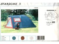 Stardome 3 person tent by Wehncke Freetime