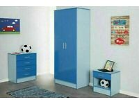 🔴BRAND NEW FURNITURE🔵Bed Room Set Alina 2 Doors Wardrobe In Diff Colors-Fastest Delivery💧