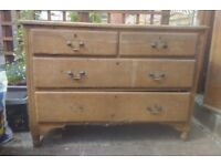 Barn find two over two chest of drawers