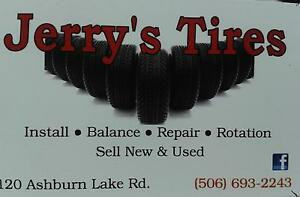 Jerry's Tires 8-5 Mon-Fri  8-12 Sat