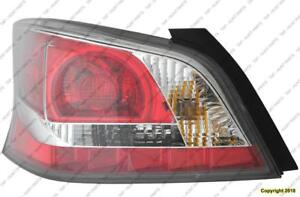 Tail Light Driver Side Sedan Without Led High Quality Nissan ALTIMA