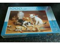 Jigsaw 1000 pieces. New and sealed