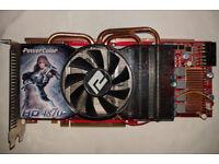 Radeon HD4870 graphics card (1GB)