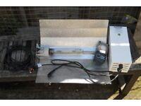 Grow light Maxibright 600w ballast inc 600w sunray sodium bulb timer & reflector £40