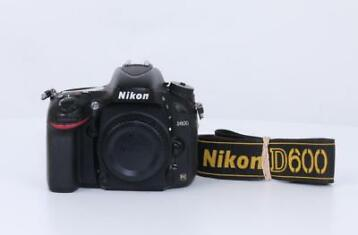 Nikon D600 DSLR Body Occasion (28.000 clicks) (Occasions)