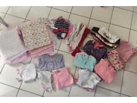 For sale: baby girl clothes: 9-12 months