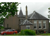 Sycamore Hall, Cruden Bay. Weekly self catering accommodation. Sleeps 6. Close to golf course.