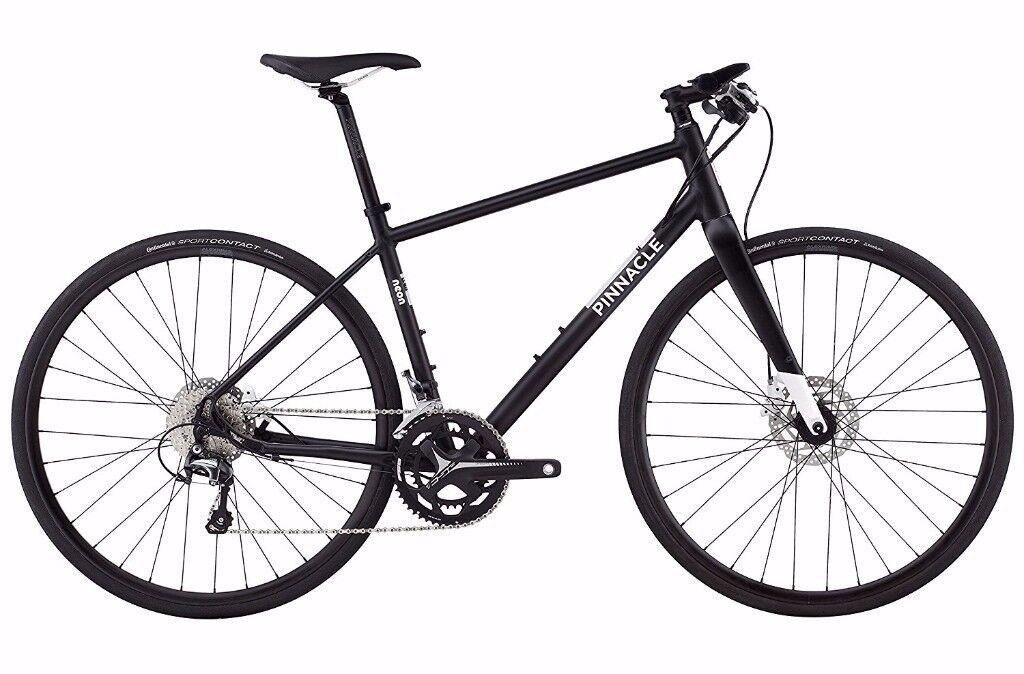 2017 Pinnacle hybrid bike medium black