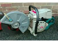 Makita DPC 6400 petrol concrete 12inch disc cutter road cut off saw