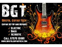 Bristol Guitar Tech Setup Service for Electric, Acoustic and Bass Guitars Starting from only £27.00