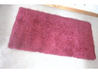 Small red rug from Next