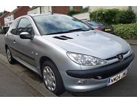 Peugeot 206. 12 month MOT, only 63,000 genuine miles.