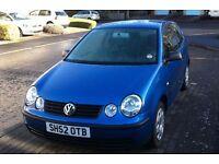 VW Polo 1.2 Blue - LOW Millage