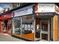 Optimus IT Solutions - Edinburgh's Mobile Phone, Tablet and Computer Repair Centre