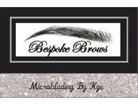 Bespoke brows microblading by Kye