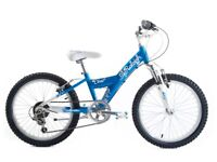 """(4131) 20"""" Aluminium RALEIGH DIVA GIRLS KIDS MOUNTAIN BIKE BICYCLE Age: 6-9; Height: 120-135 cm"""