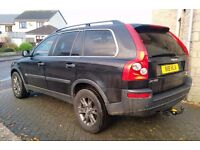 Volvo XC90 D5 SE 2005, 6 speed manual, 7 seater