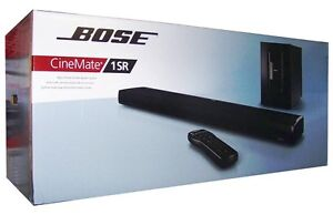 Bose CineMate 1SR Digital Home Theater Speaker System/ Home Sound Bar System