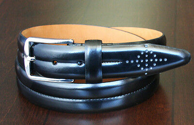 Lejon Belt Men's Leather Dress Belt 1-3/8