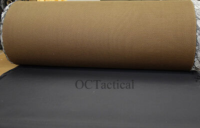 Military Spec Coyote 498 Spacer Mesh Fabric .25