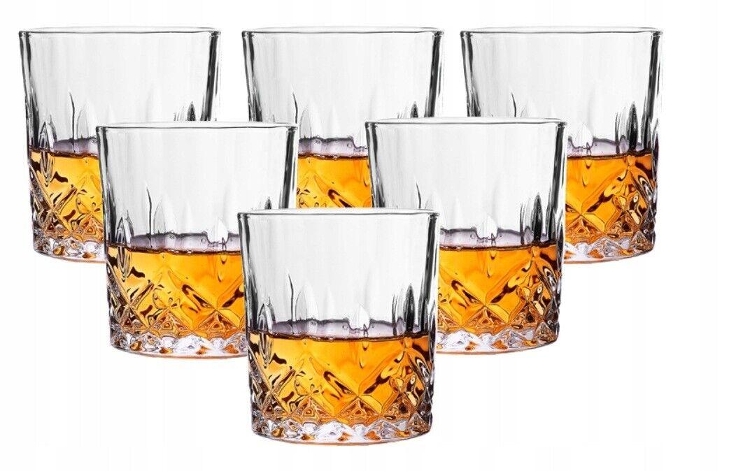 Whiskyglas Gläser Set 6tlg Kristallglas 250 ml