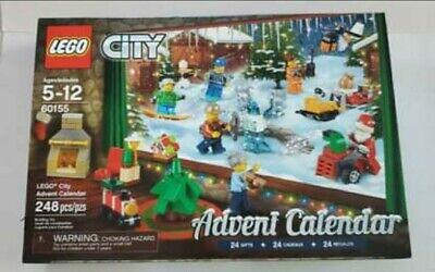 LEGO City 60155 Advent Calendar 2017 Brand New